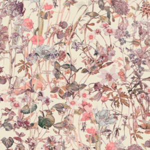 37ed335585c Liberty stof – Wild flower Rosa UDSOLGT – KOMMER IGEN