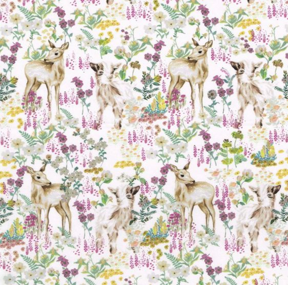 Liberty stof med Bambi