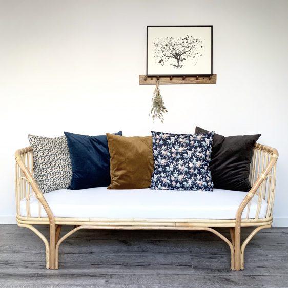 sofa i rattan